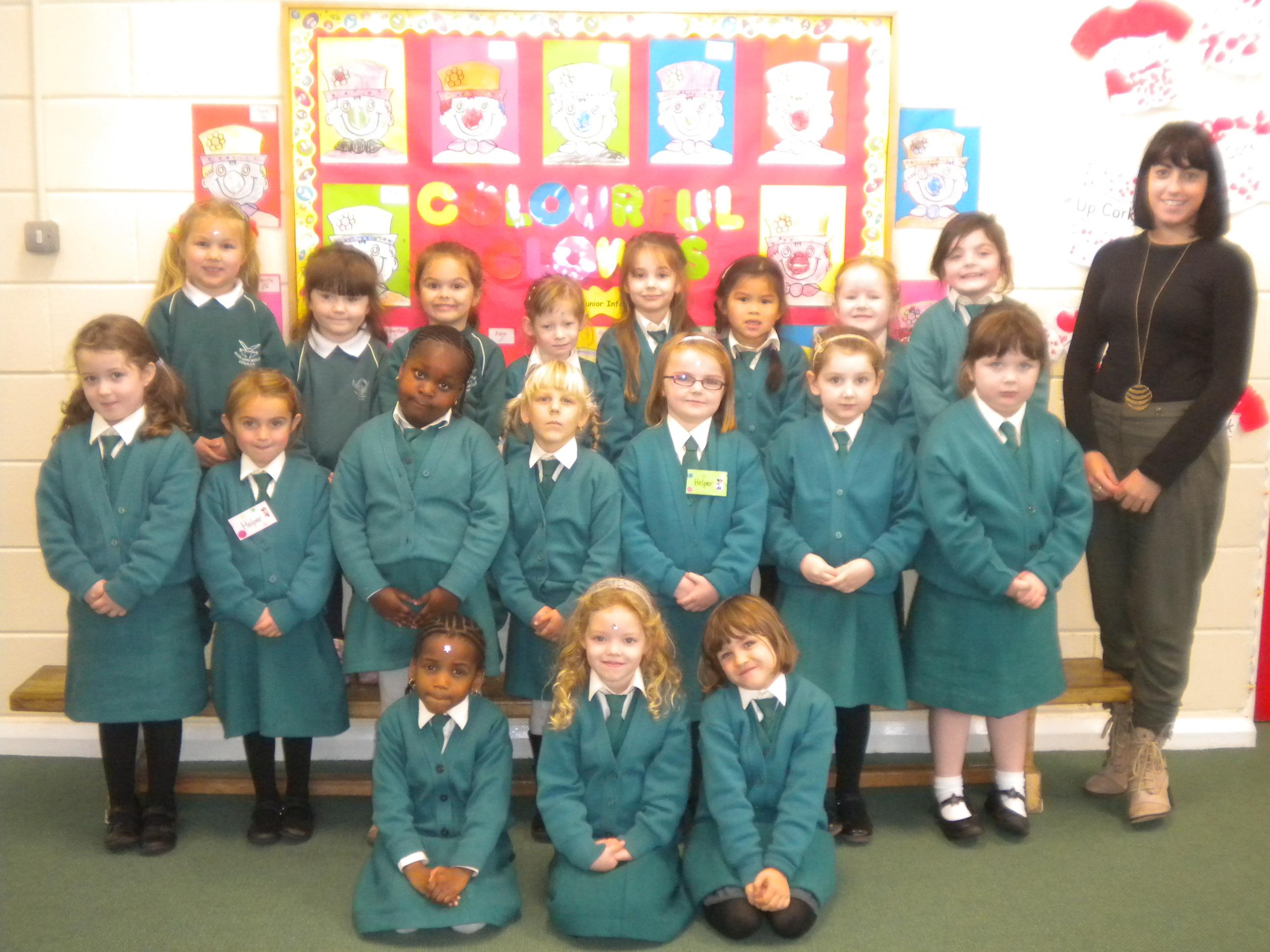 junior infants classes 2010