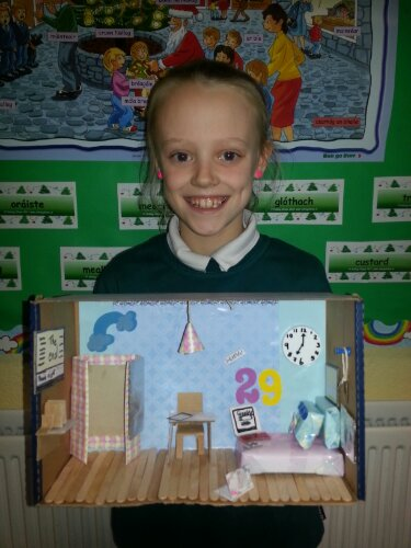 Miniature Children S Bedroom Room Box Diorama: St Columba's Girls National School With